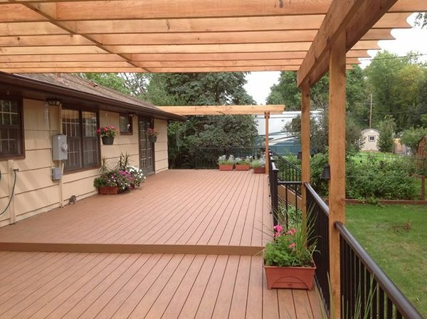 New Deck with Pergola built in Colorado