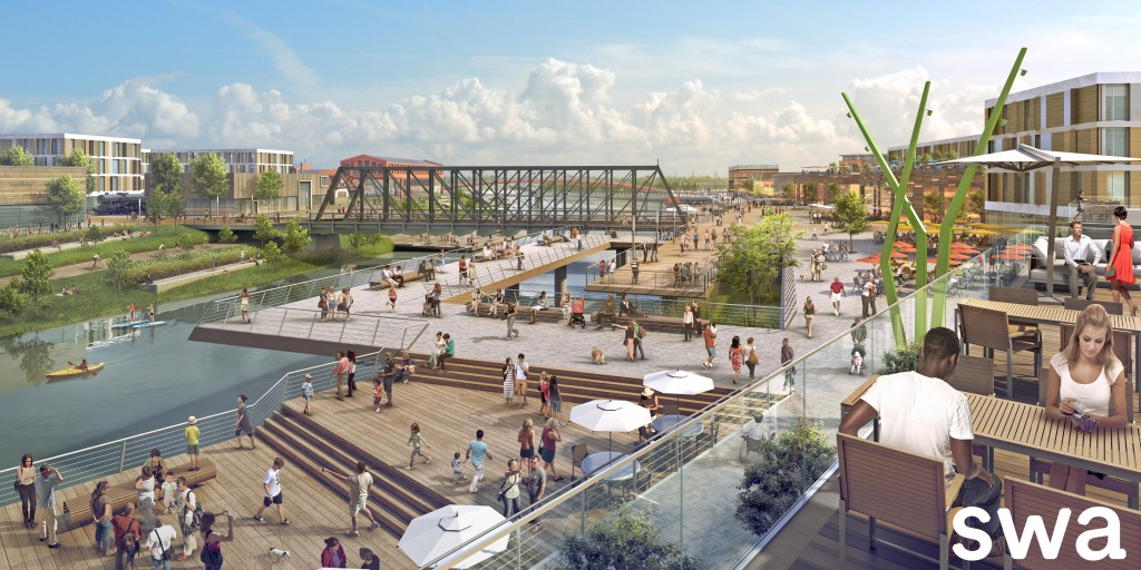 Headwaters Junction - Riverfront Fort Wayne South Bank