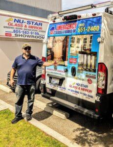 glass repair and board up owner jim