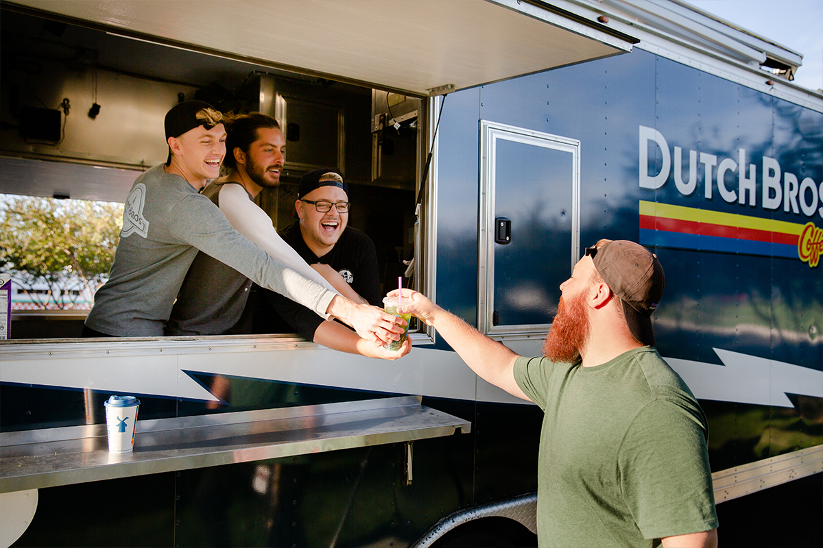 Dutch Bros. Food Truck