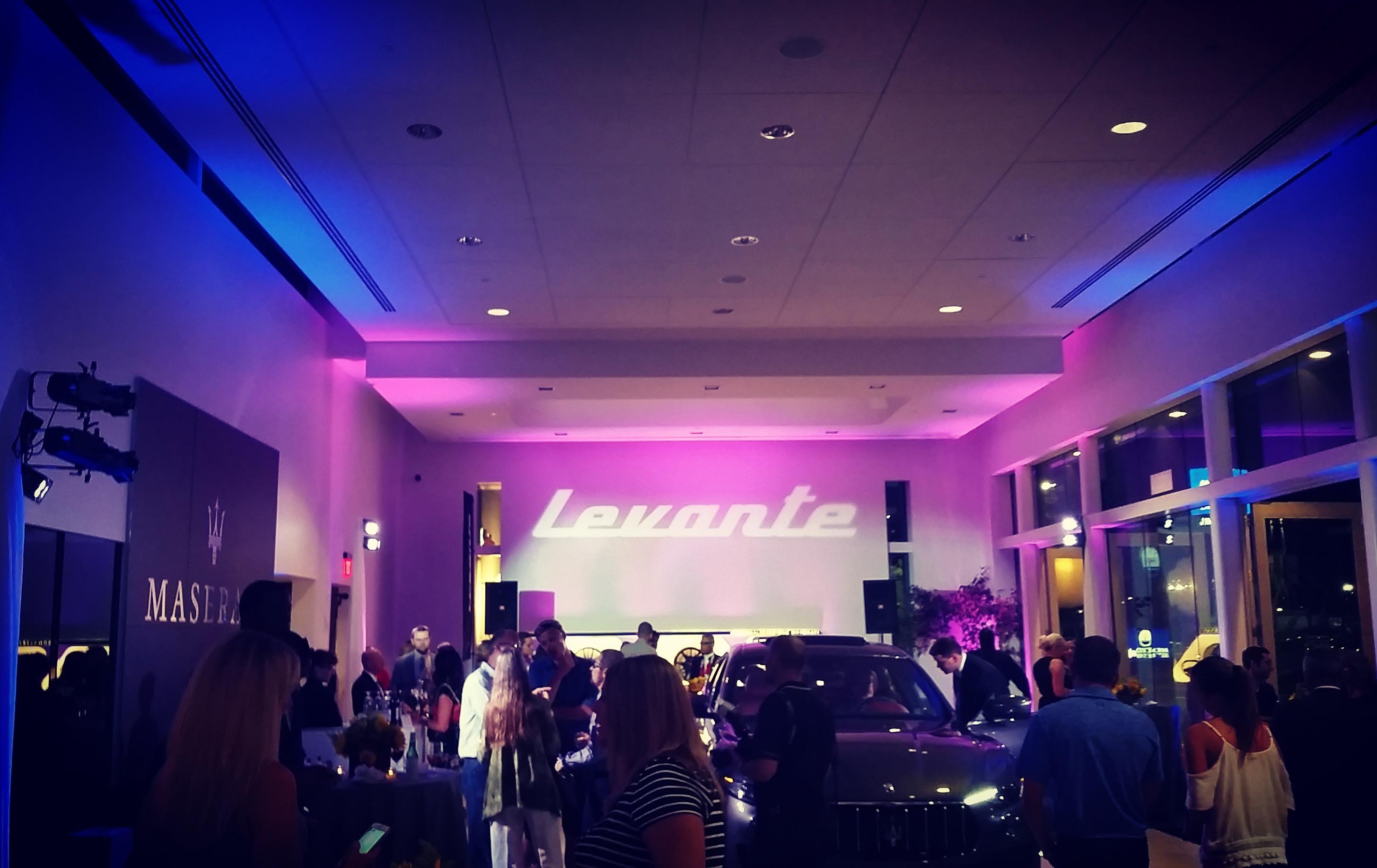 Reeves Maserati-Levante Reveal 2016