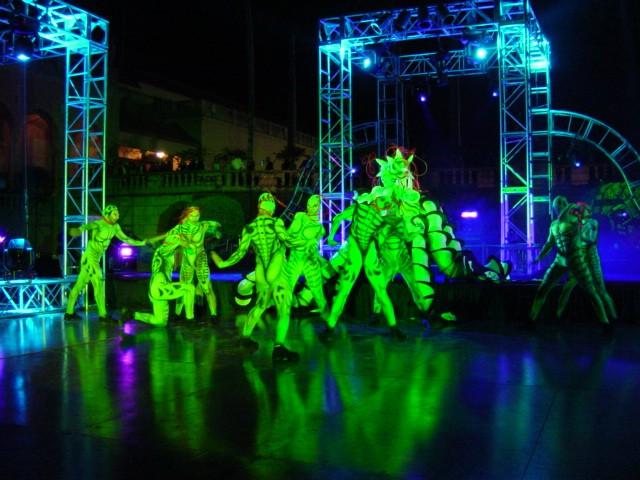 Ringling Museum Green Dancers