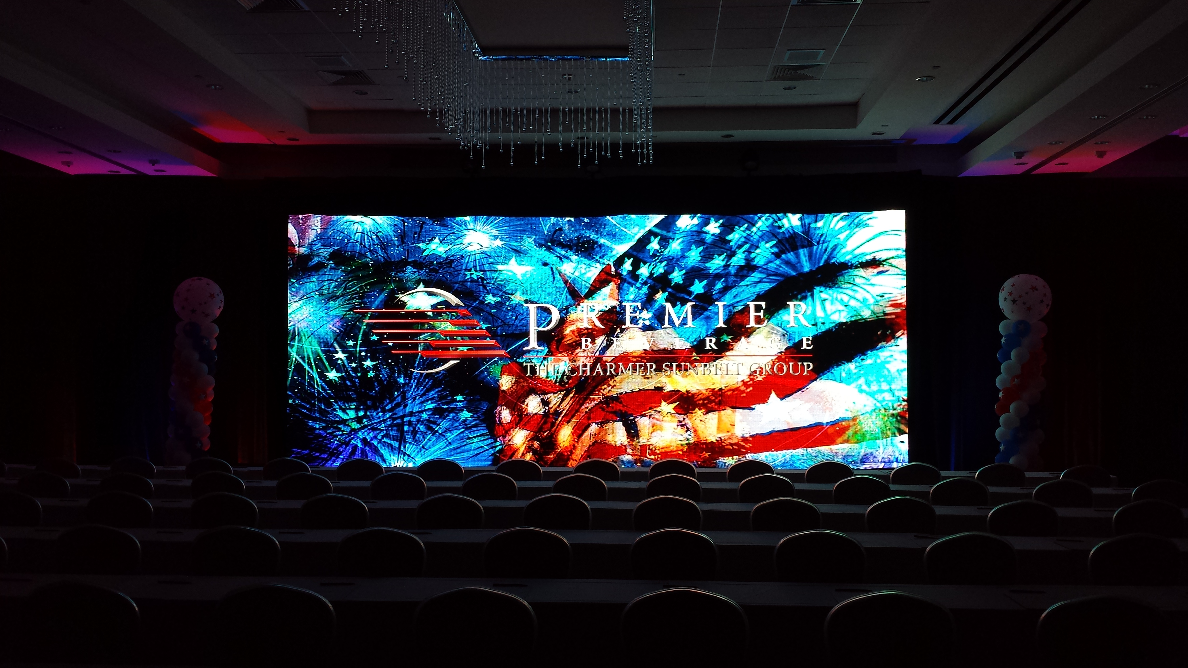 LED WALL - Premier Bev 2014
