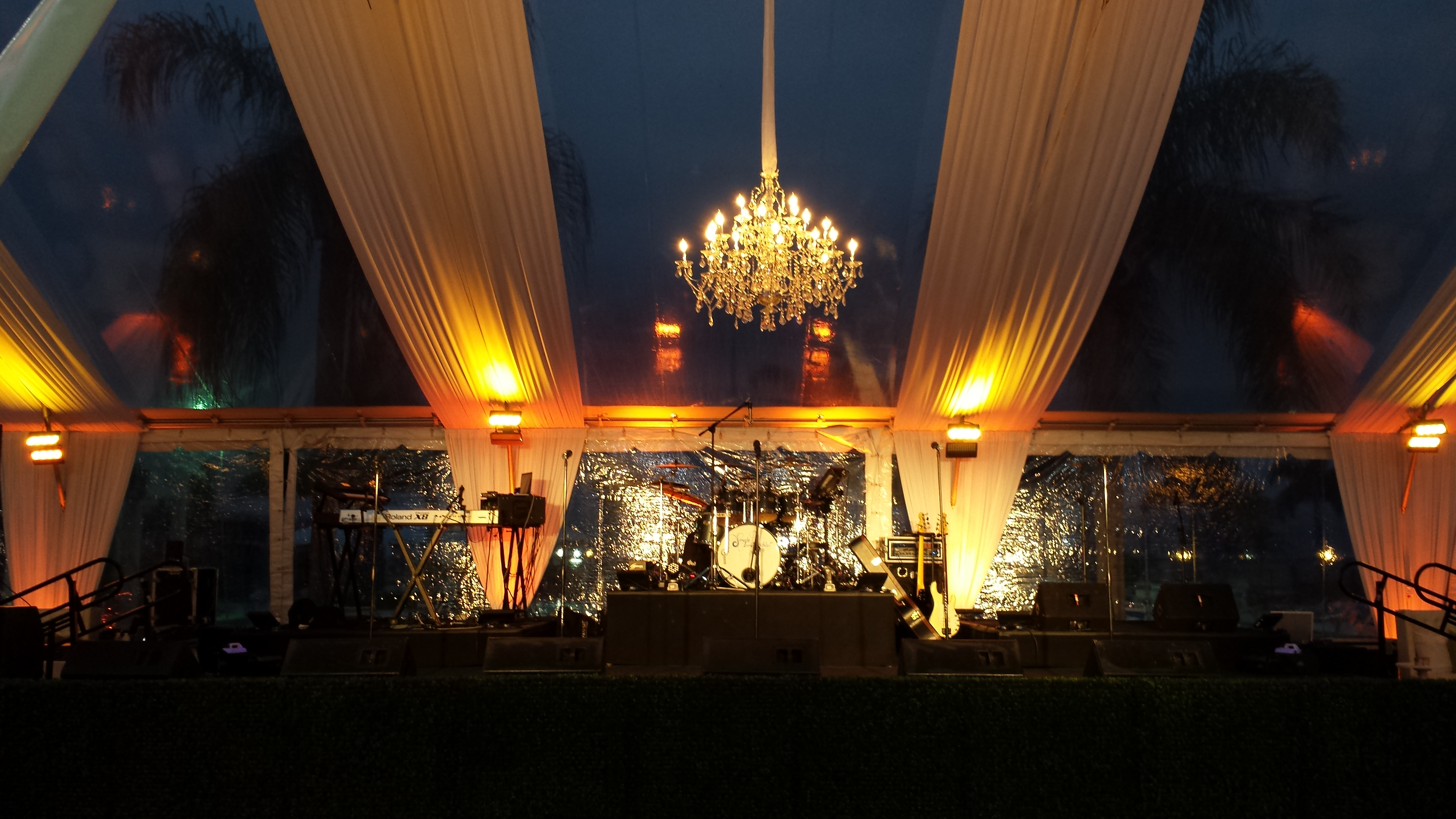 Tent - tampa Yacht Club 2014