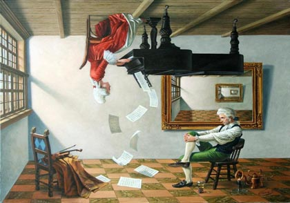 Discord of Analogy by Michael Cheval
