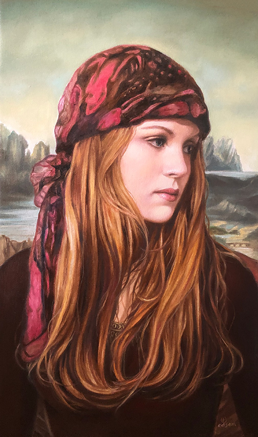 Young Gypsy by Edson Campos