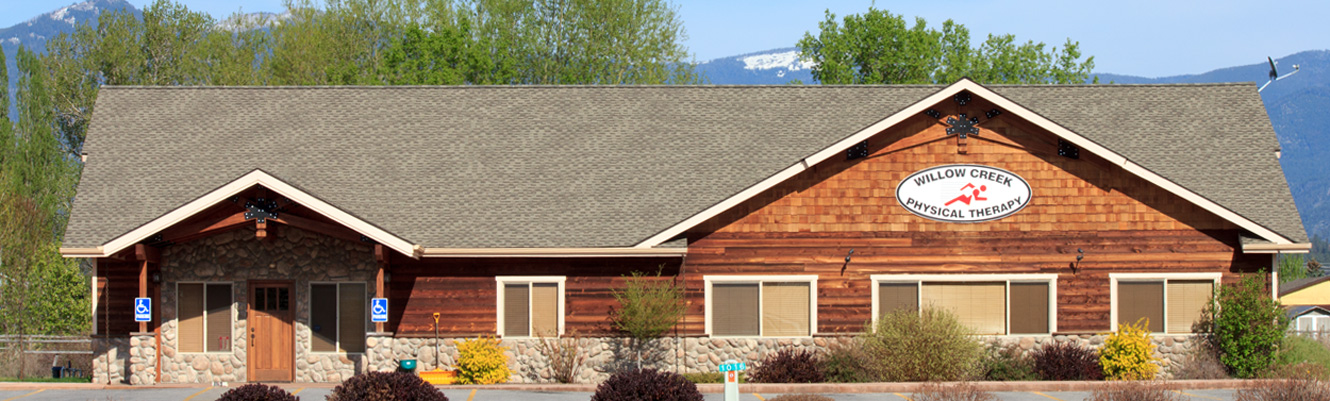Exterior image of Willow Creek Physical Therapy Clinic