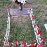 Vicki's Gravesite  December 12, 2014