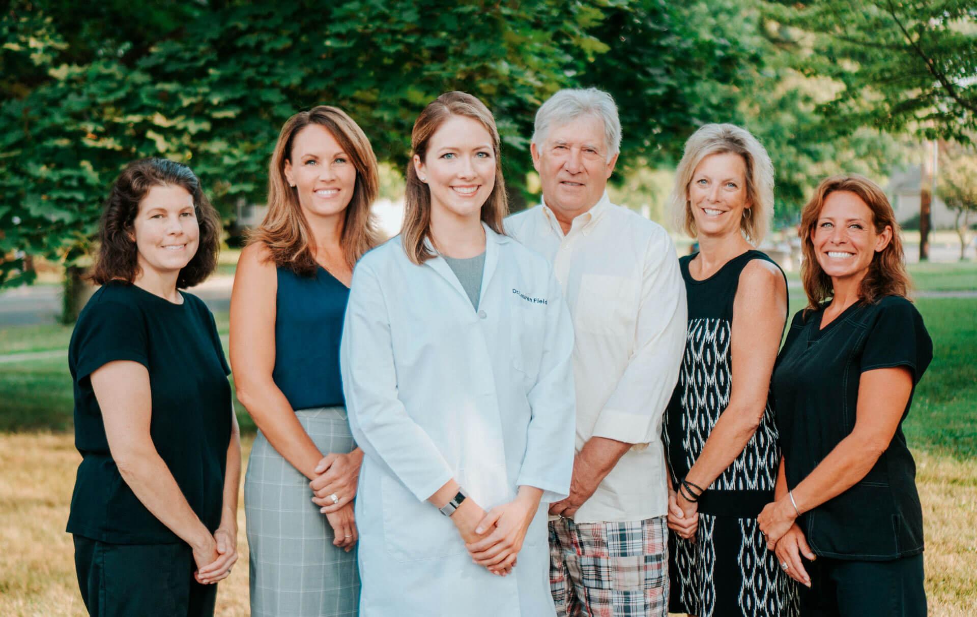 Dr. Lauren and her team