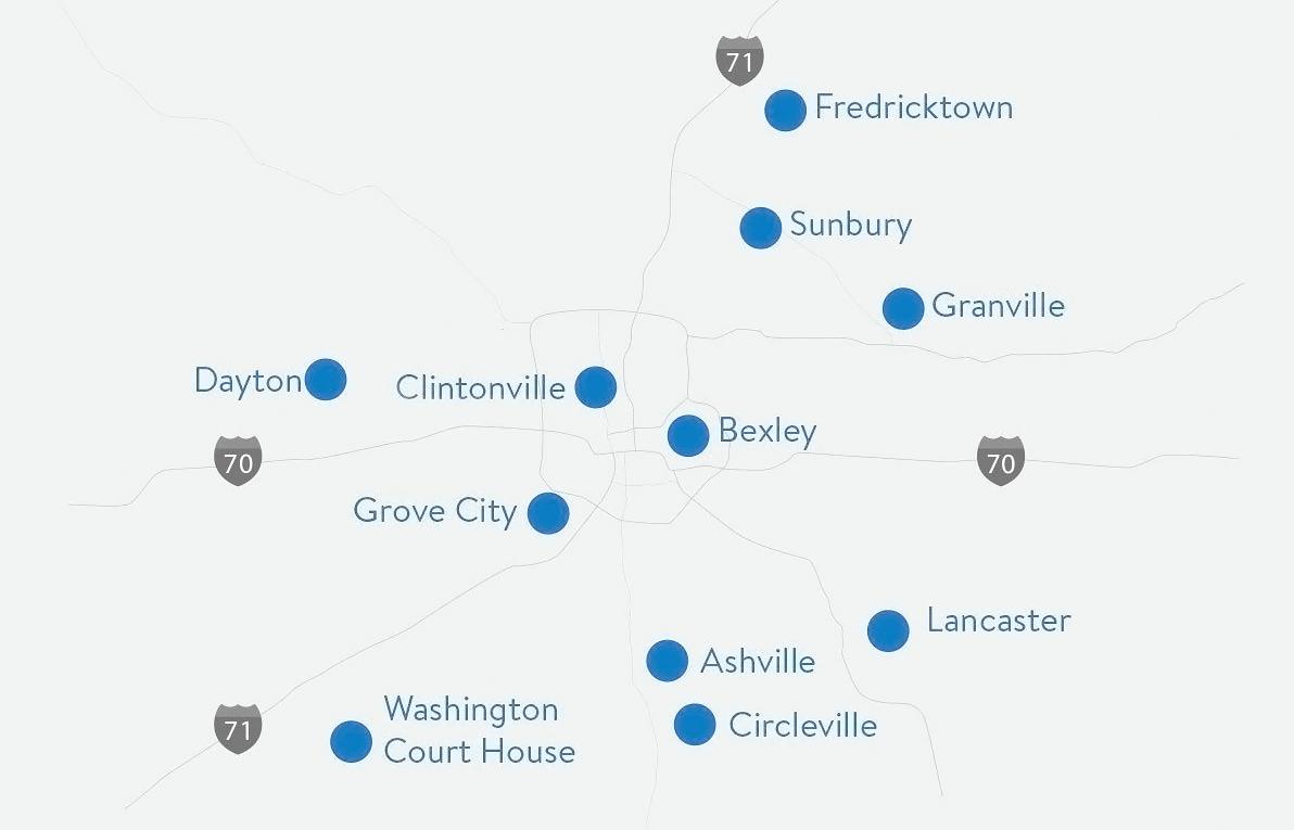 Elevate Dental Partners Map
