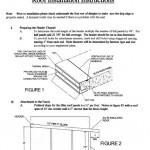 roof installation instructions