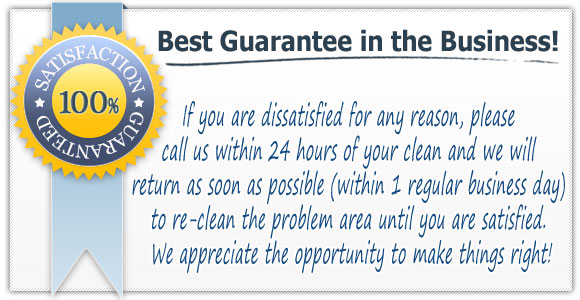 Misty Clean Guarantee on House keeping service & office cleaning in Pasadena, Severna Park, Glen Burnie & Baltimore
