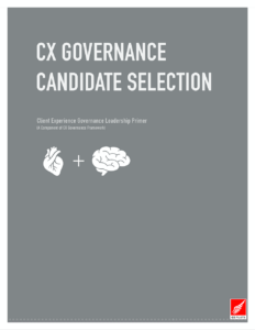 CX Governance Candidate Selection