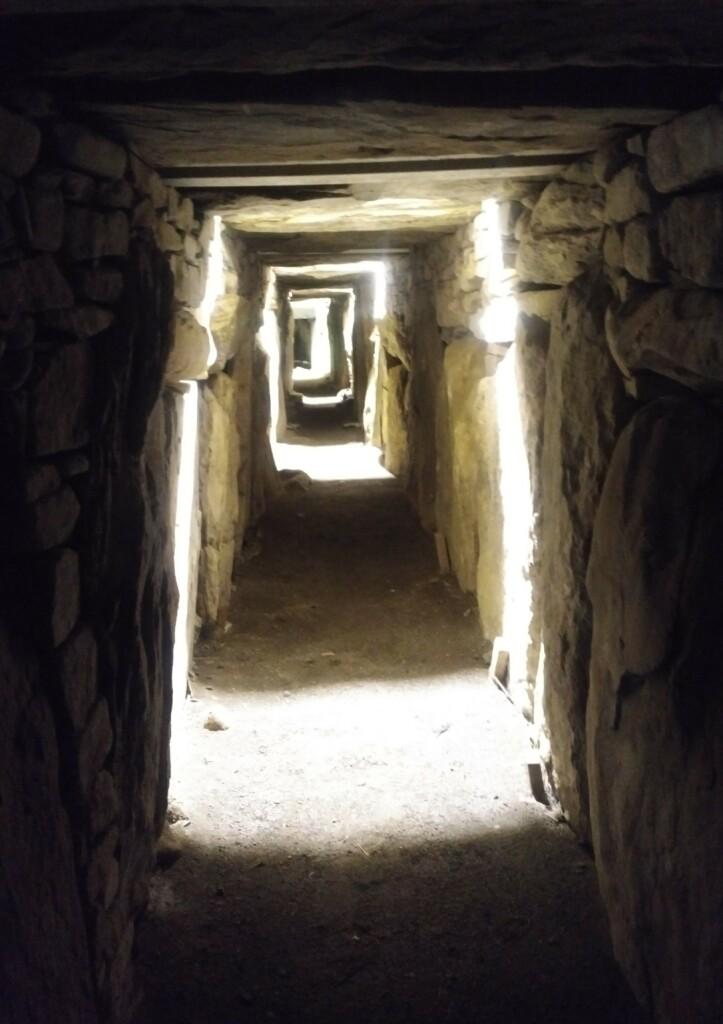 Hiking ancient sites Ireland