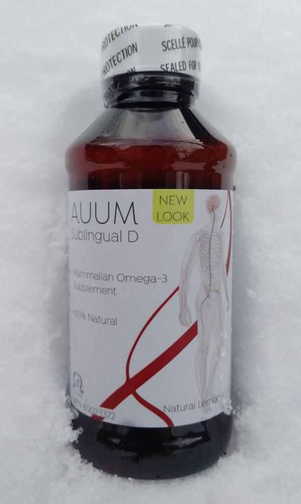 Auum Omega 3 Sublingual D3