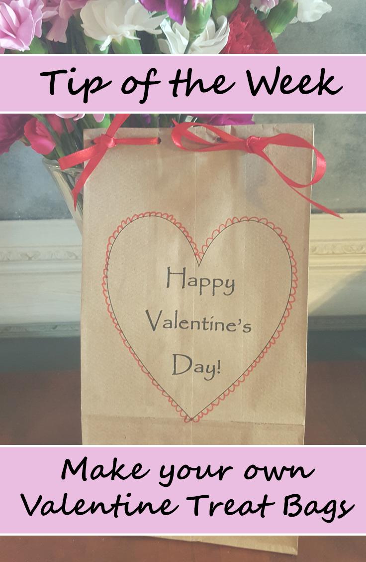Tip of the Week: Last Minute Valentine's Treat Bags