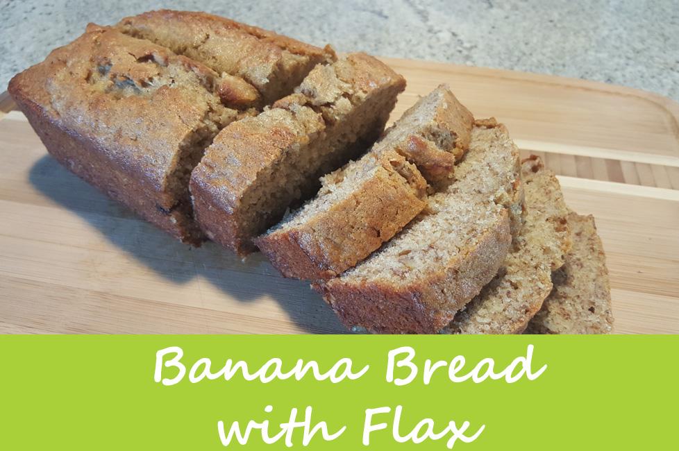 Banana Bread with Flax