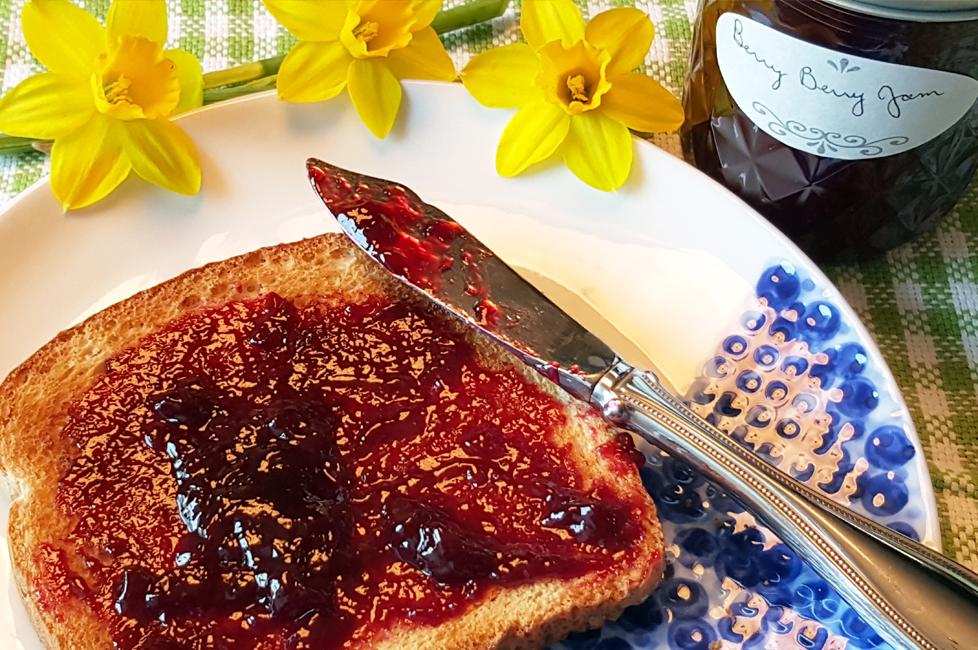 Homemade Berry Berry Jam