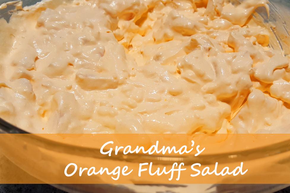 Orange Fluff Salad p
