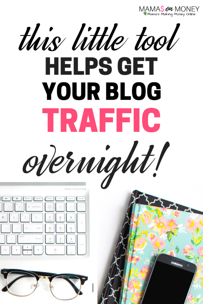 This little tool gets you blog traffic overnight