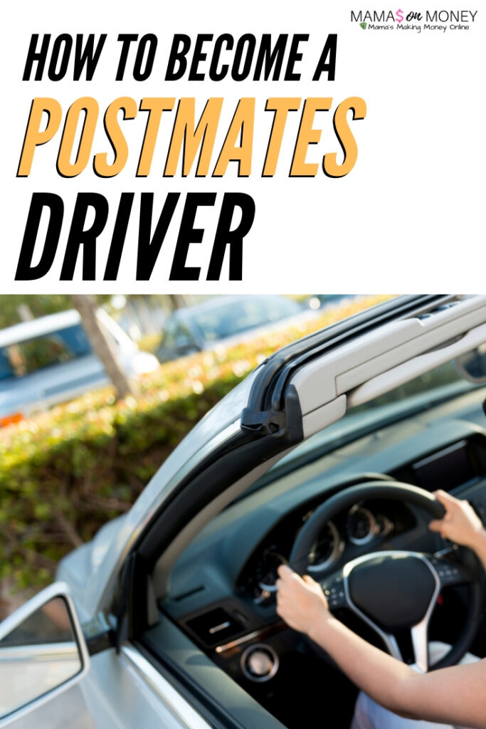 How to Become a Postmates Driver