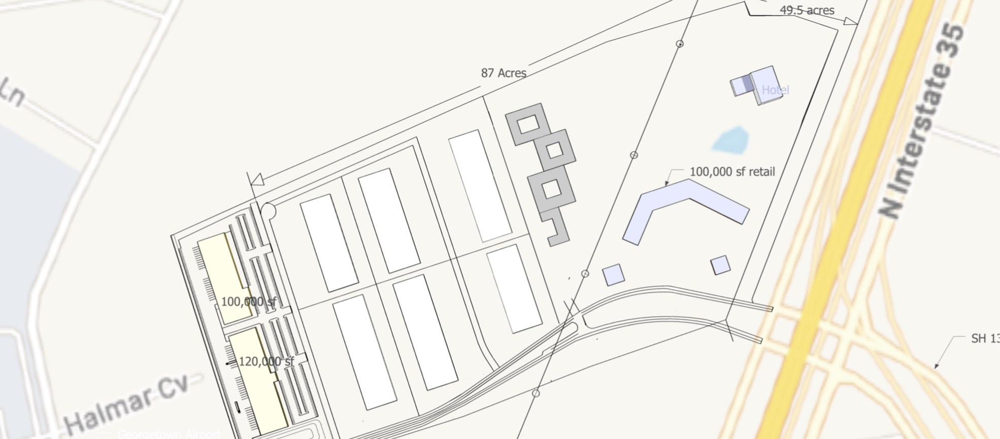 Georgetown, Williamson, Texas, United States 78628, ,Warehouse,For Lease,1062