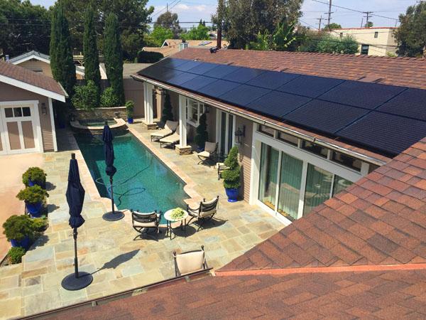 Long Beach Residential Solar Installation