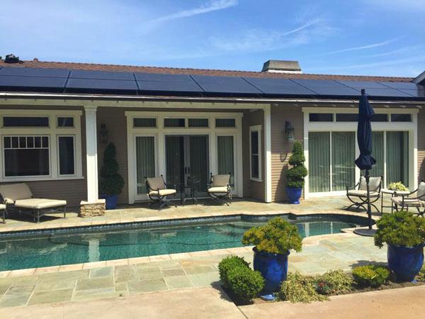 Residential Solar Installation, CA