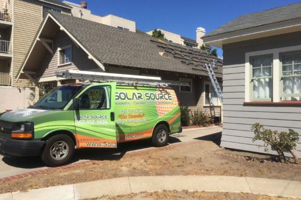 Solar Source Inc. Company Van