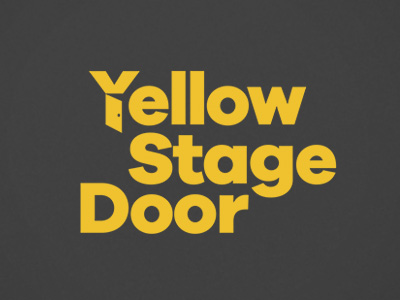 Yellow Stage Door Studio