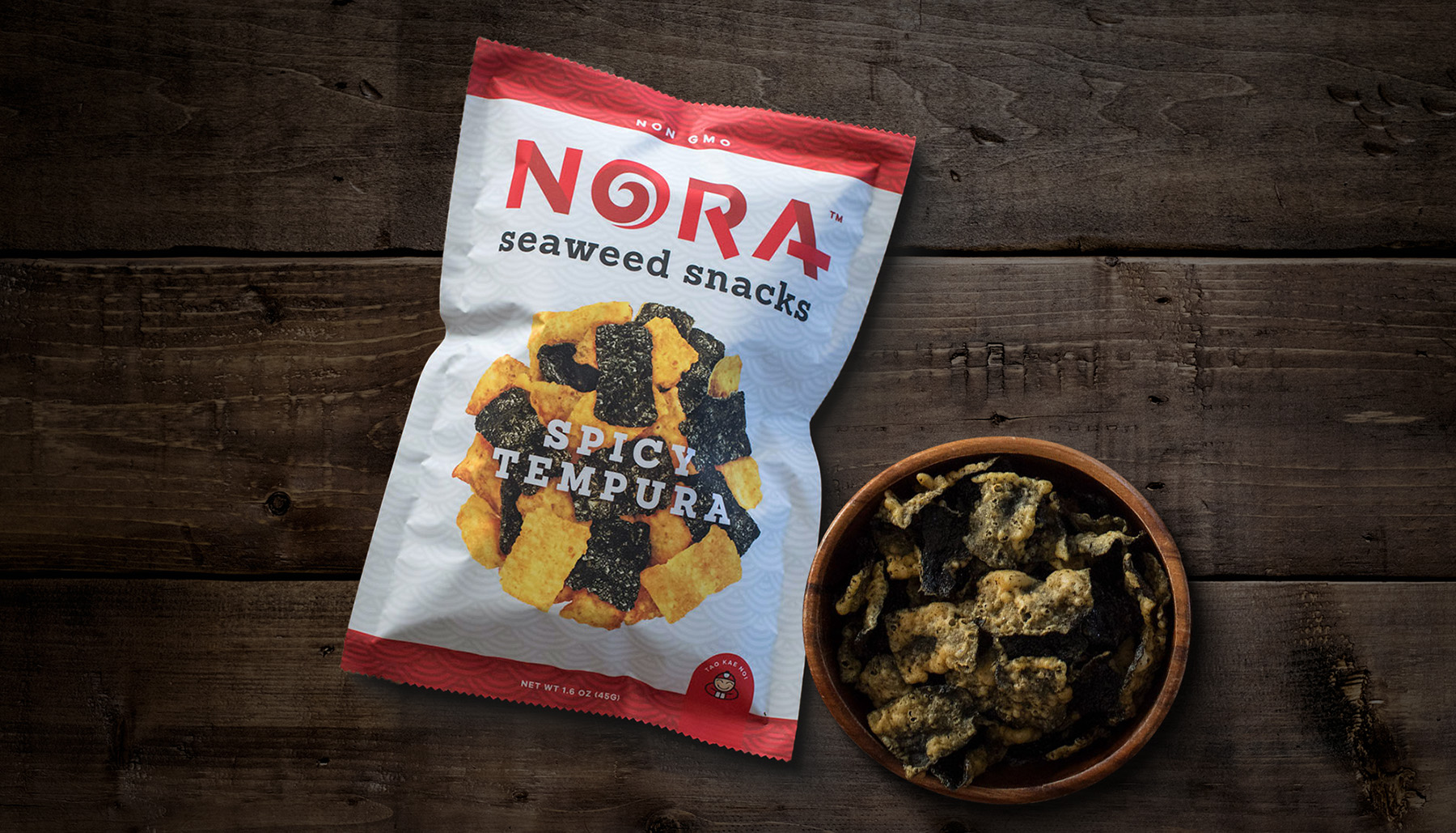 Nora Seaweed Snacks Packaging