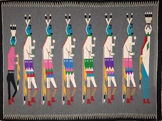 NAVAJO RUGS & DREAMS  by Mary Jo Heyen