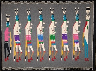 NAVAJO RUGS & DREAMS  by Mary Jo Heyen