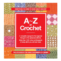 A to Z of Crochet book cover