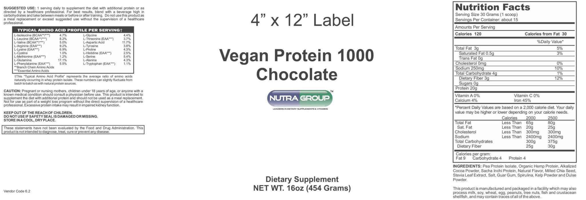 Private Label Vegan Protein Powder
