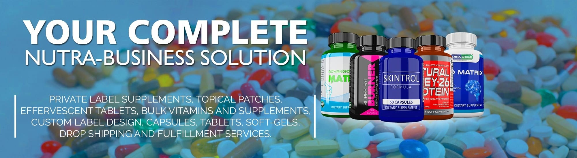 Private Label Supplements & Vitamins