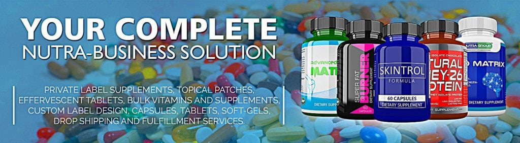Private Label Vitamins and Supplements