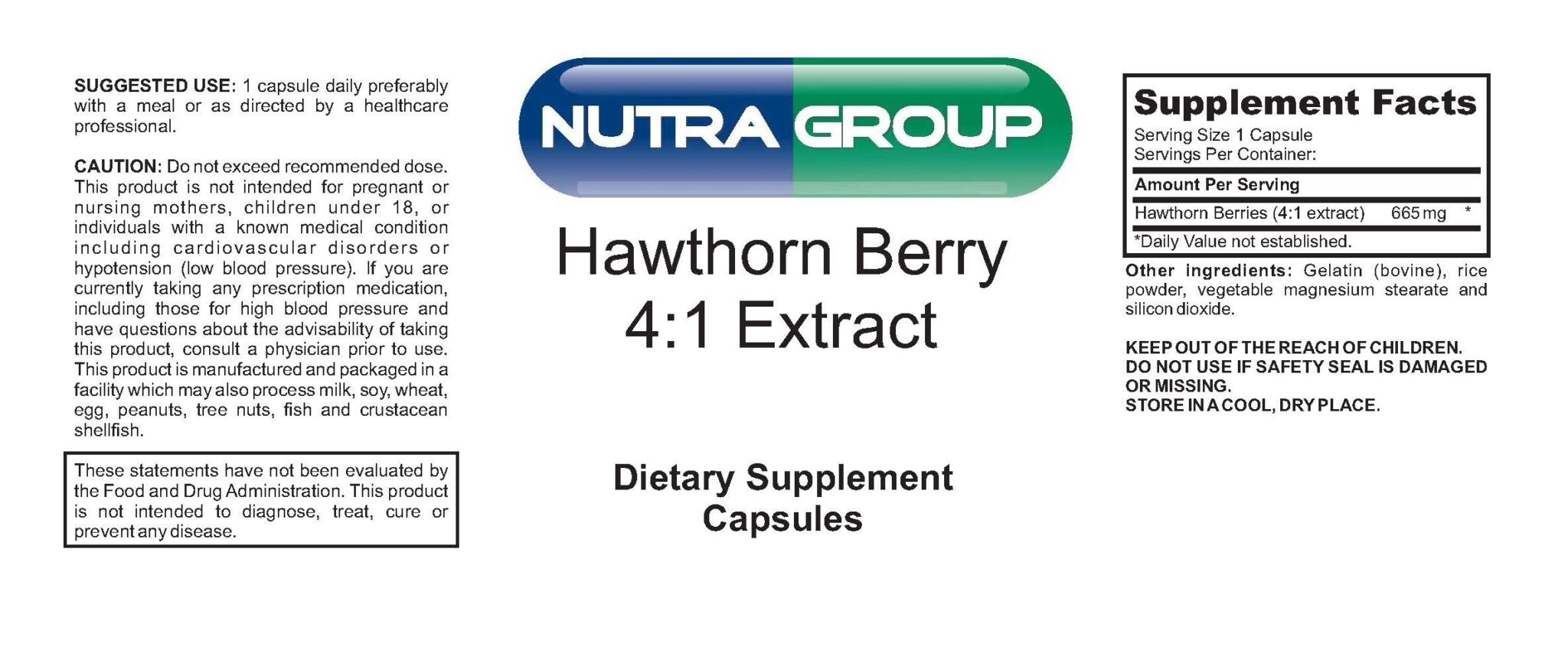Private Label Hawthorn Berry Extract