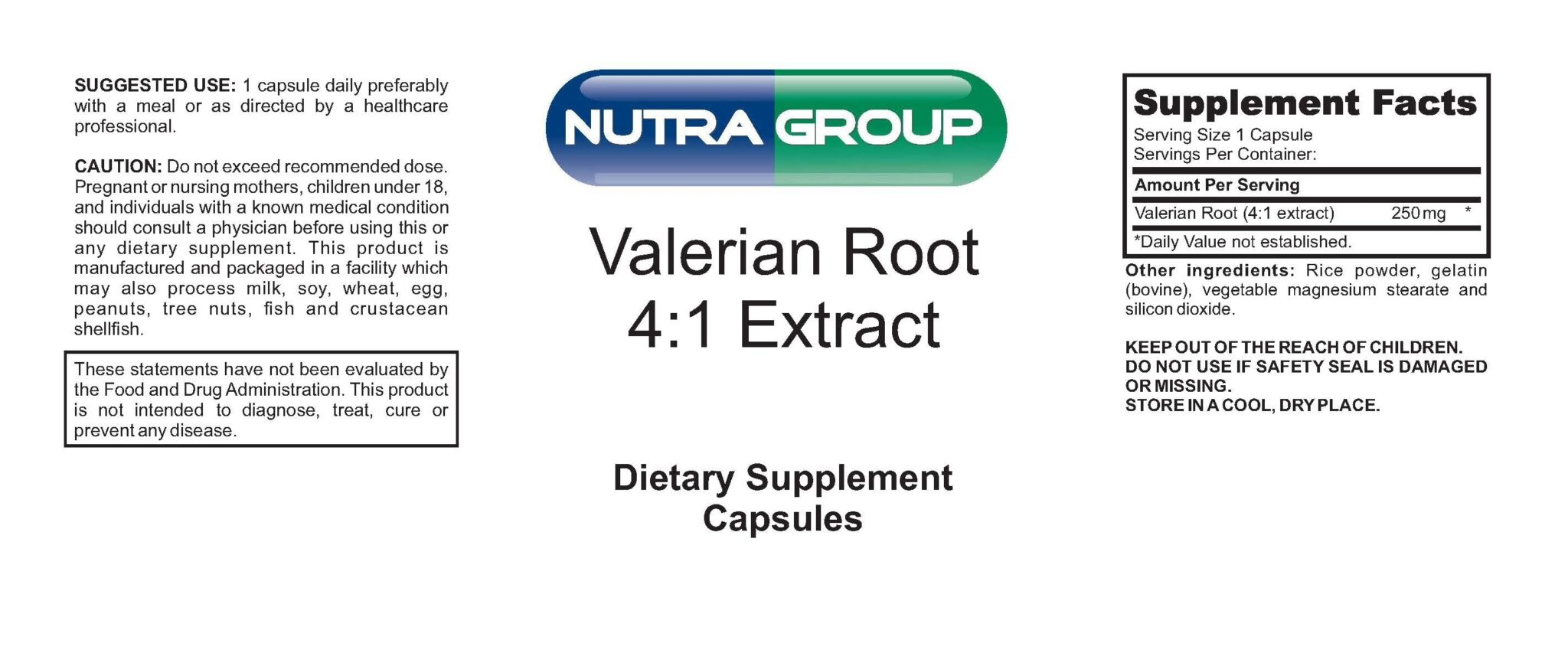 Private Label Valerian Root Extract