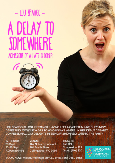 Lou Spargo_A Delay to Somewhere flyer