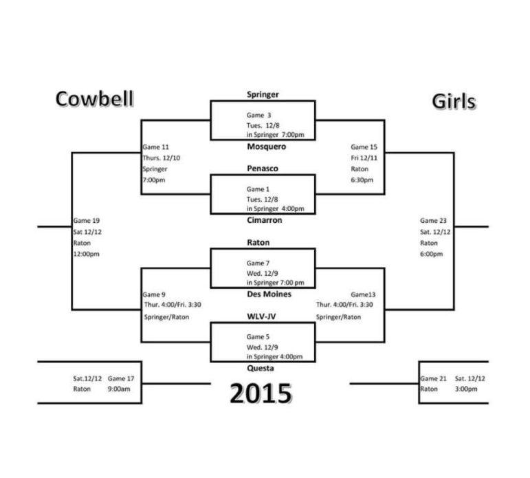 Cowbell Bracket - Girls