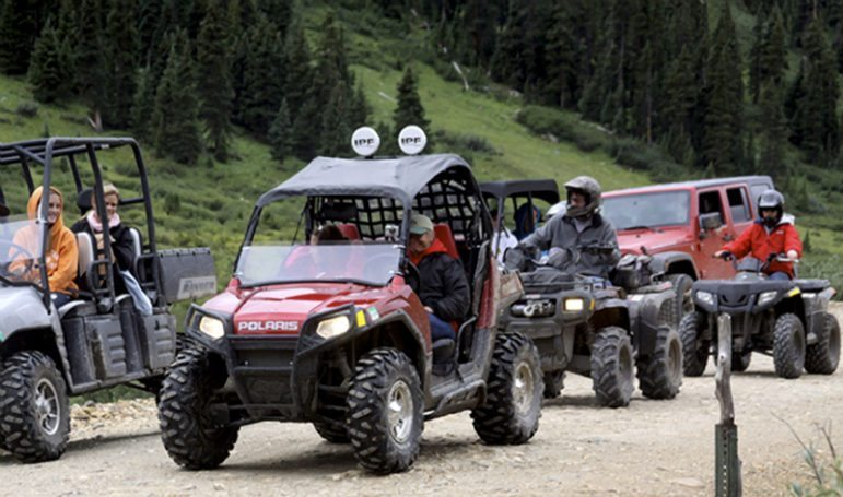 Off Highway Vehicle (OHV) side-by-sides (Internet photo)