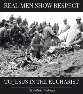 Mass and Eucharist in Battle