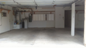 after pic of garage clean out