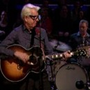 "Watch Nick Lowe perform ""Sensitive Man"" live on Late Night with Jimmy Fallon."