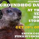 Groundhog Day Coupon Sale