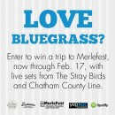 Win a Trip To see Chatham County Line and The Stray Birds at Merlefest 2015