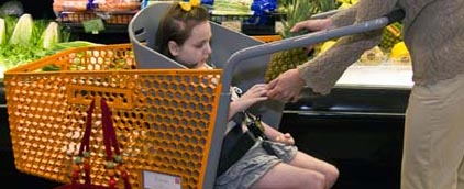 caroline's cart, invention, special needs, alabama mom