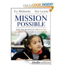 Mission Possible Book, Eva Moskowitz, book reviews, Waiting For Superman Documentary, The Lottery Documentary, charter schools, Success Academy, Success Academies