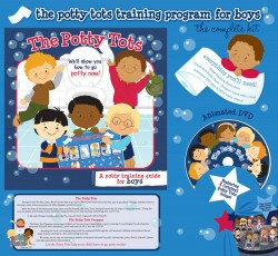 Potty Tots, Potty Tots Review, How to Potty Train, Potty training tips, potty training DVD, potty training book, Jill Leech